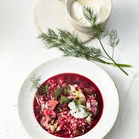 Rezepte: Suppen & Eintöpfe mit Roter Bete