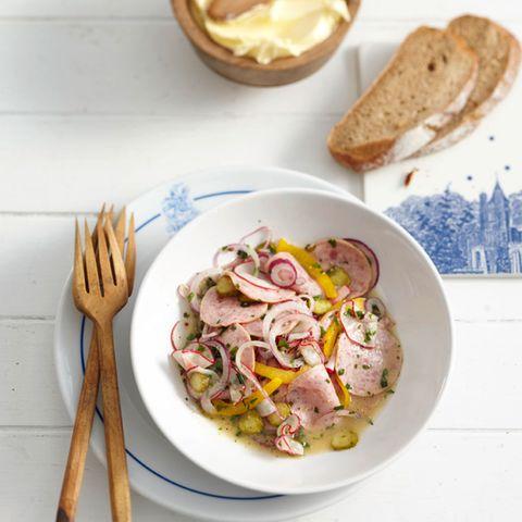 Rezepte für Wurstsalat