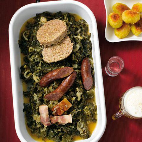 Hauptgerichte mit Wurst