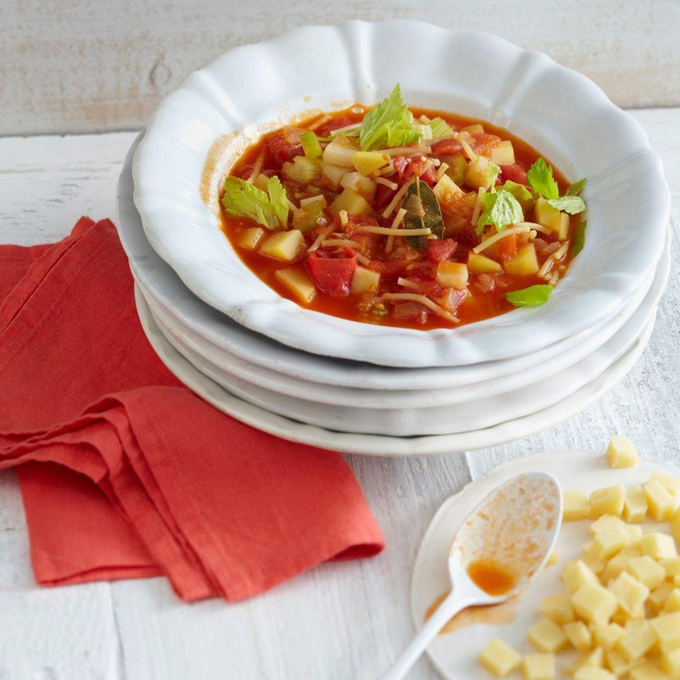 Mediterrane Küche: Suppen