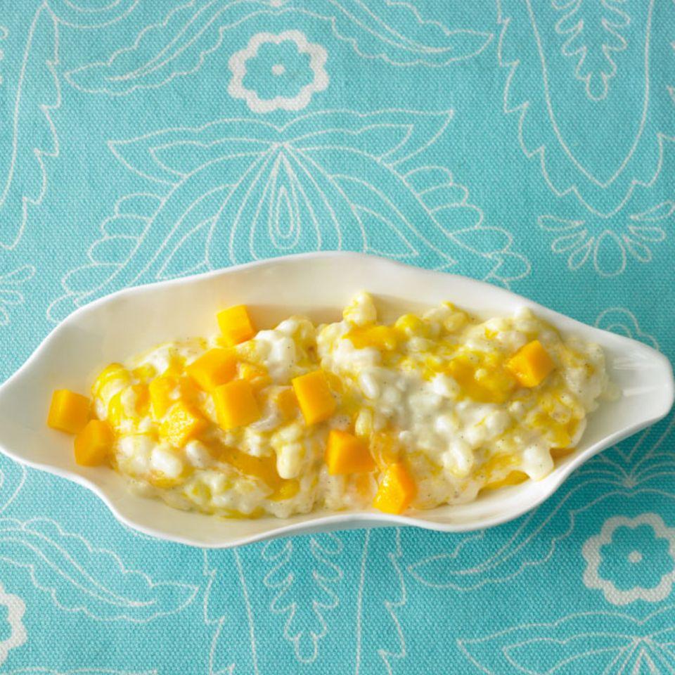 Süße Hauptgerichte: Reis