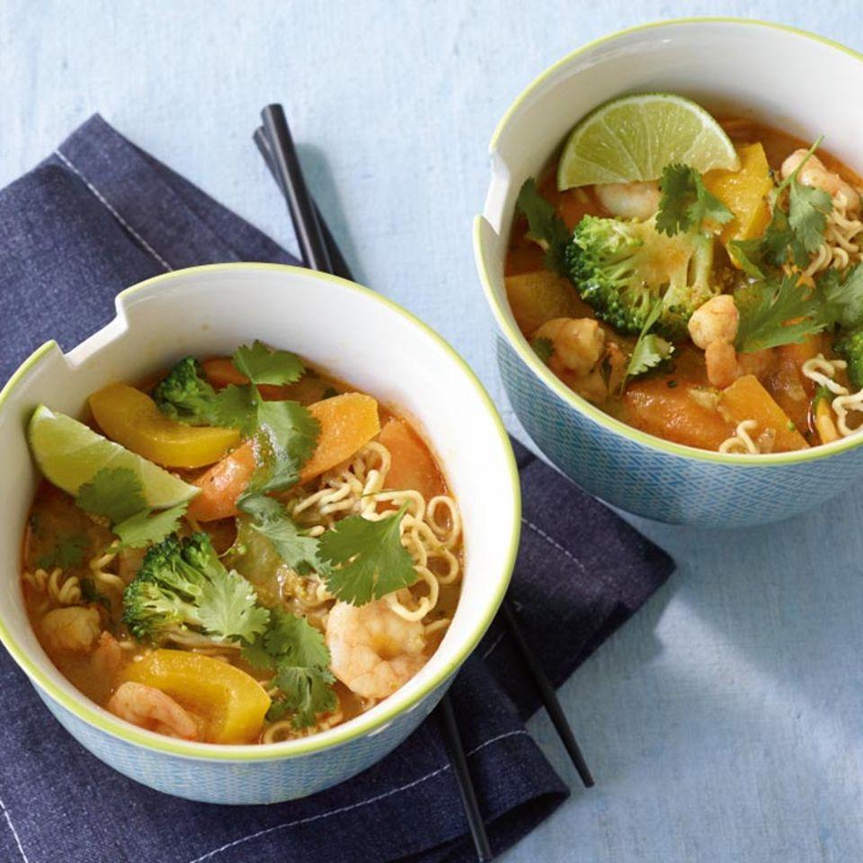 Leichte Rezepte: Suppen und Eintöpfe