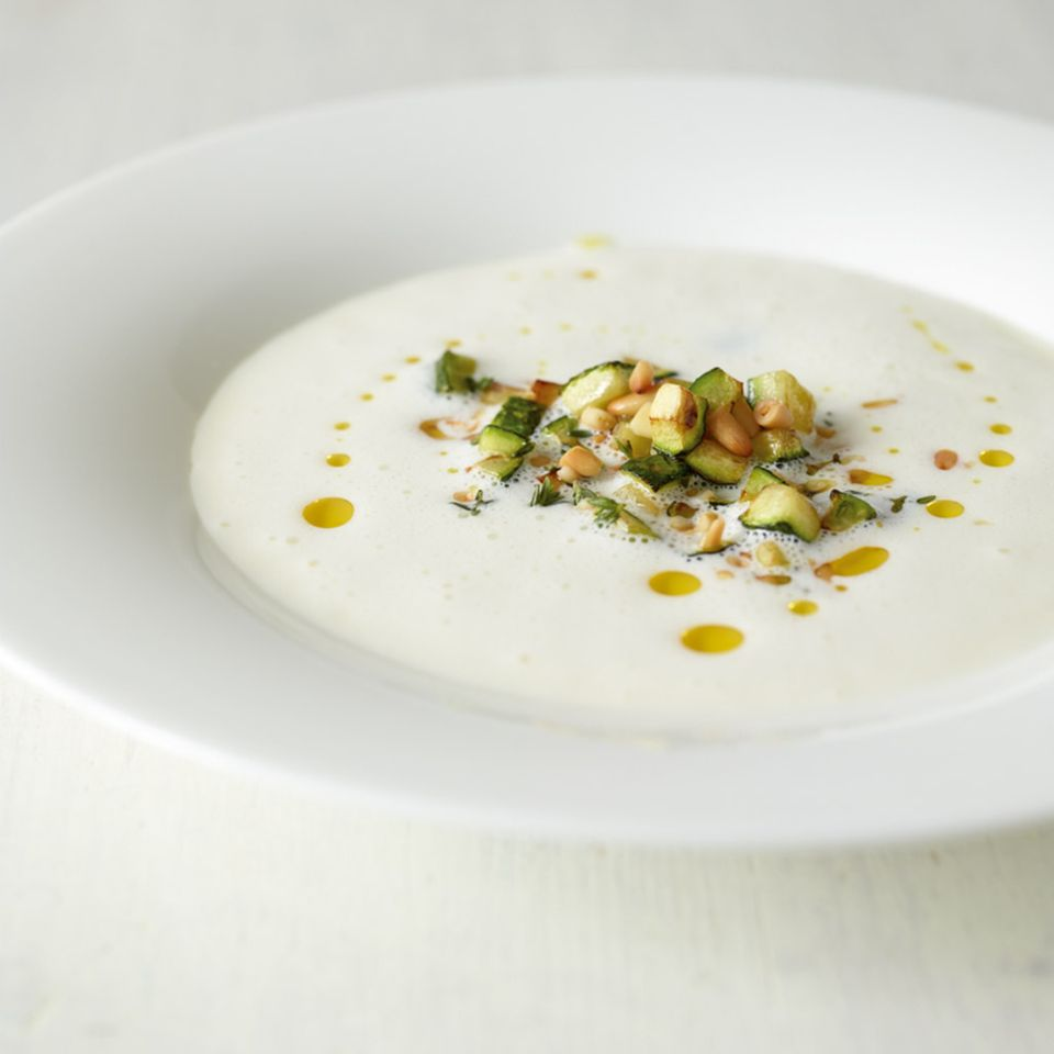 Rezepte: Suppe mit Käse