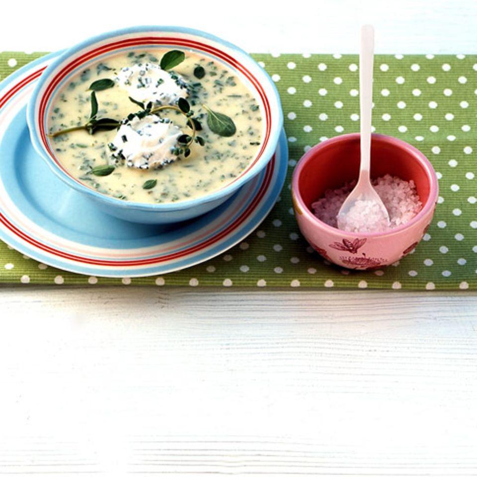 Suppen und Eintöpfe mit Schnittlauch