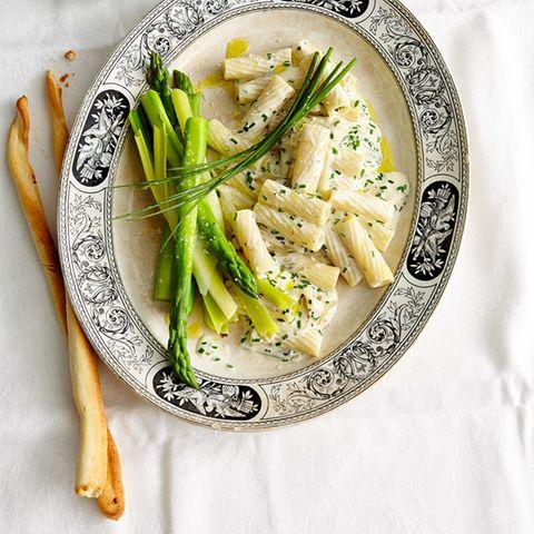 Rezepte: Spargel mit Pasta