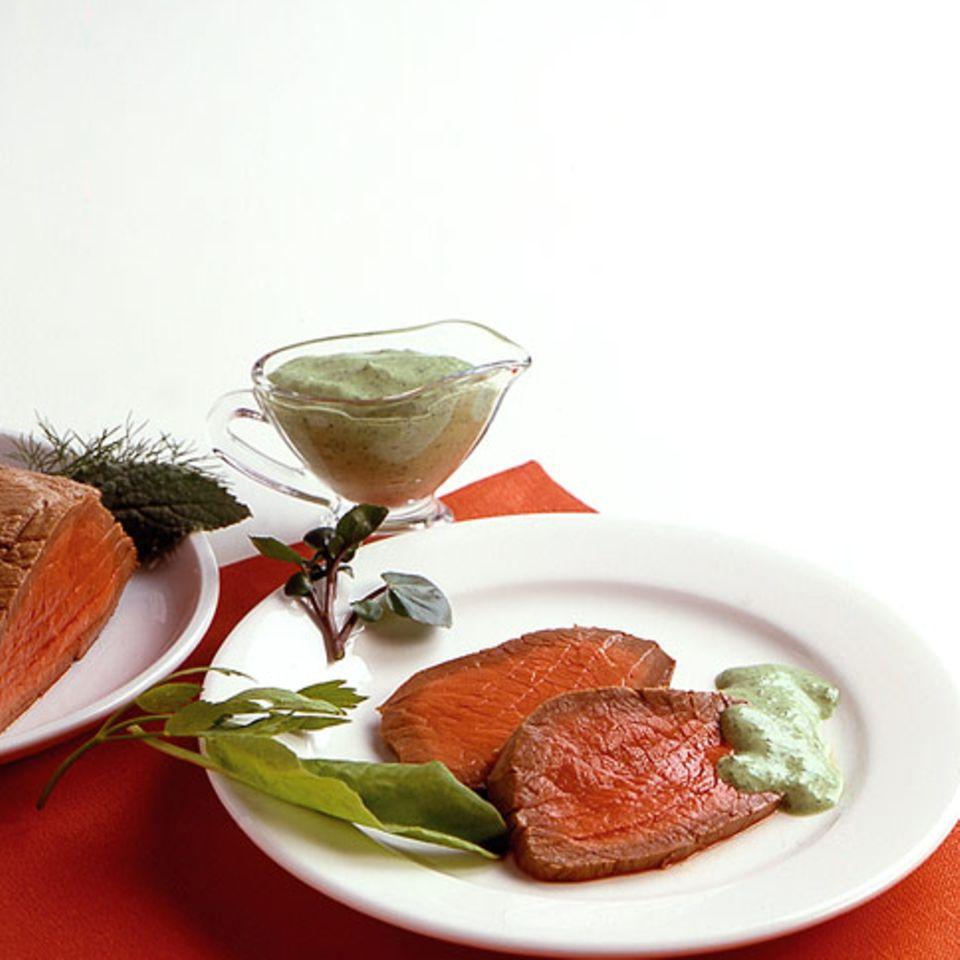 Grüne Sauce: Hauptspeisen