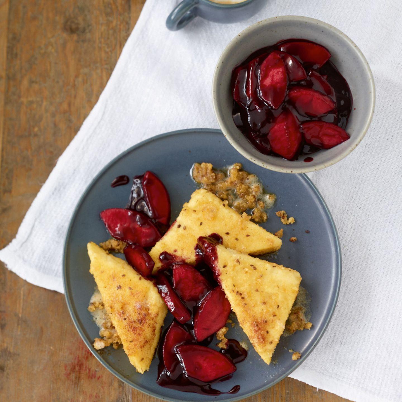 Süße Hauptgerichte mit Früchten