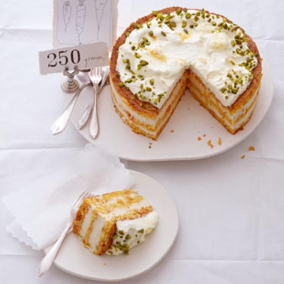 Rezepte: Desserts mit Gemüse
