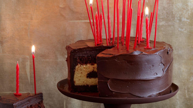 Kerze Kuchen Torte Espresso Kaffee Küche Kuchen Geburtstag