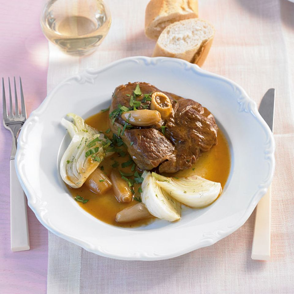 Rezepte: Ostermenü mit geschmortem Lamm