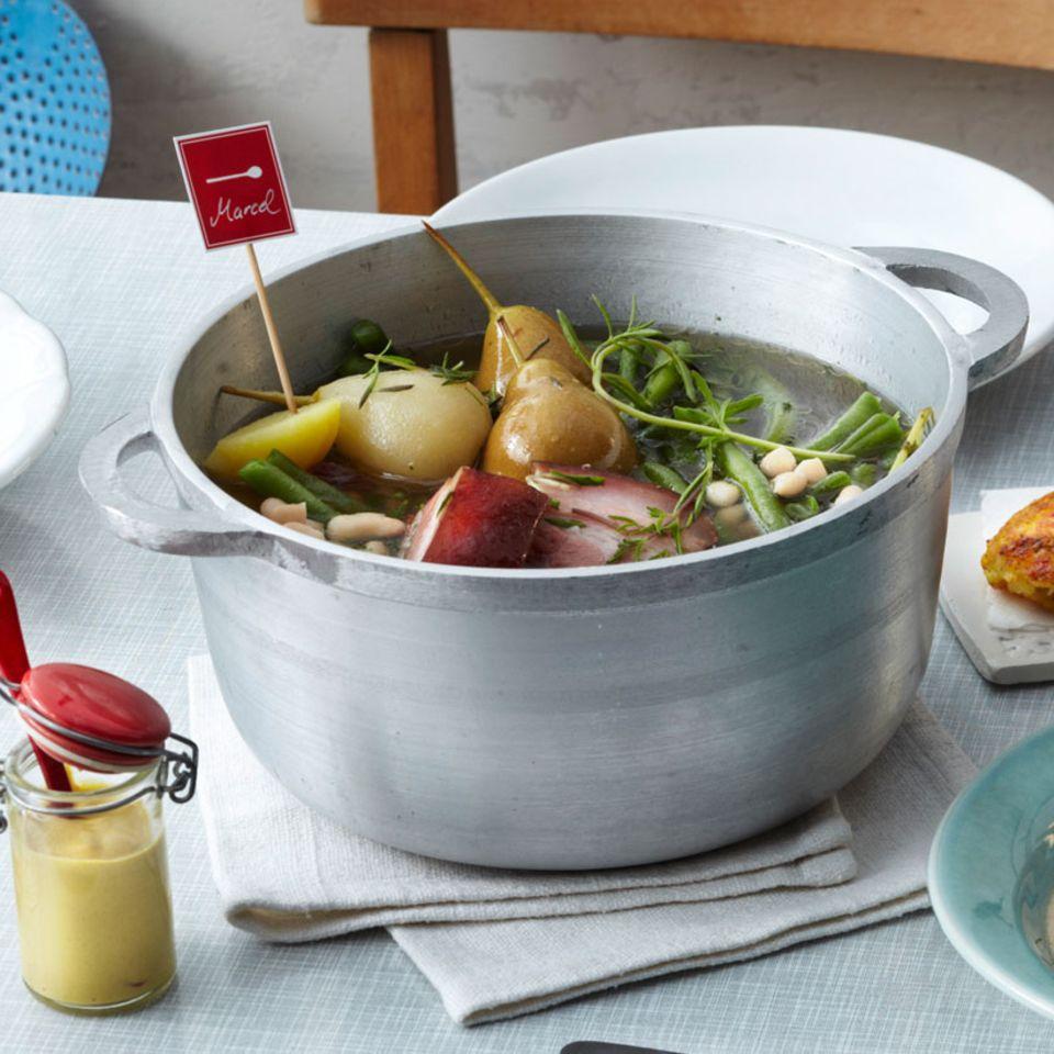 Bohnen: Suppen & Eintöpfe mit Fleisch