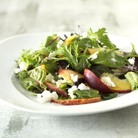 Salatteller mit Früchten