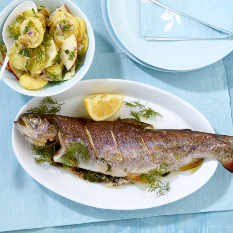 Dill: Rezepte mit Fisch