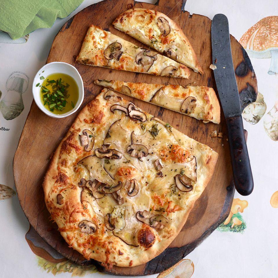 Vegetarische Rezepte mit Champignons