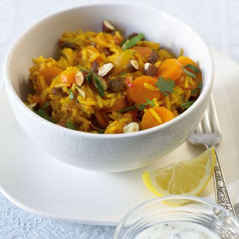 Rezepte: Möhren mit Reis