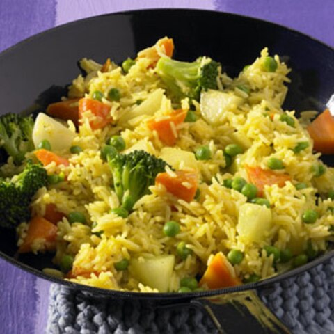 Rezepte: gekochter Reis