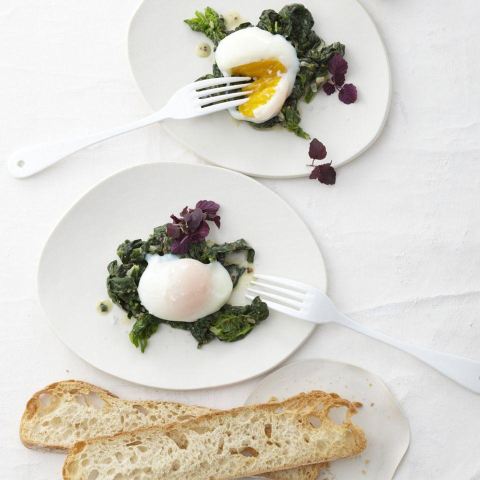 Raffinierte Rezepte mit Ei