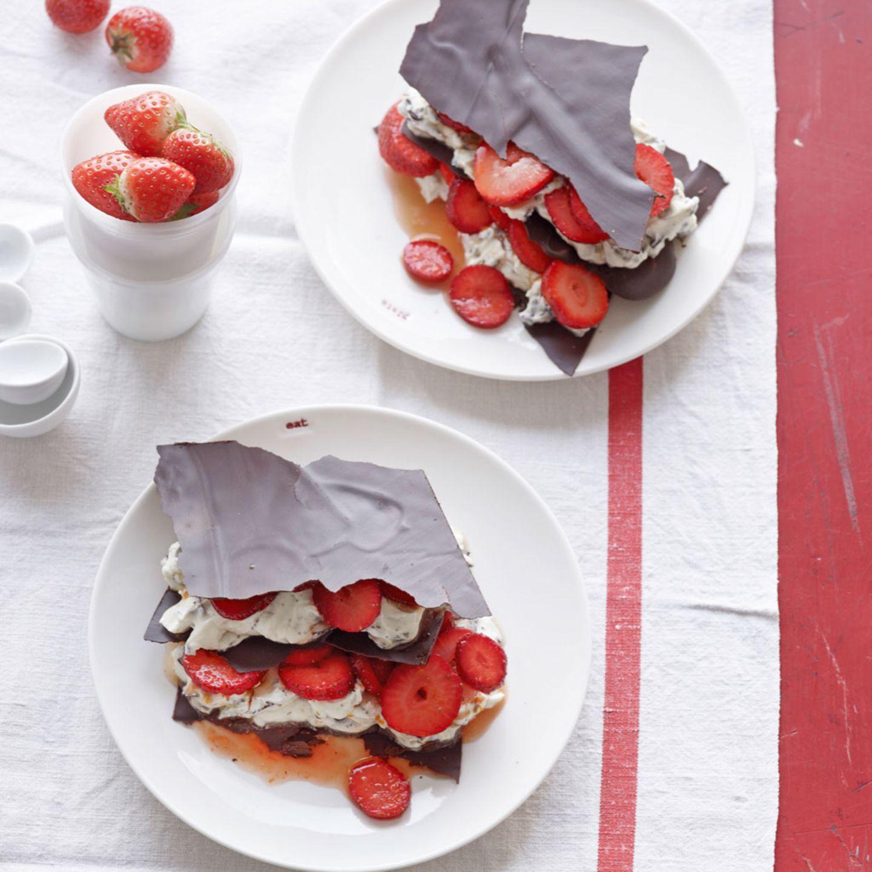 Die besten Rezepte mit Erdbeeren