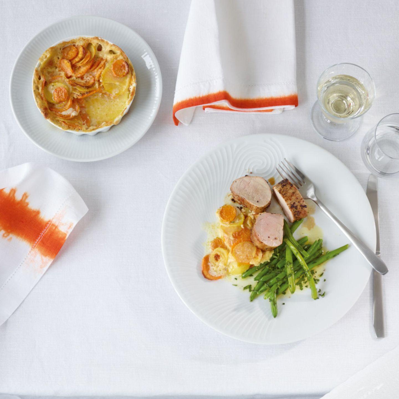 Winter: klassisches Menü