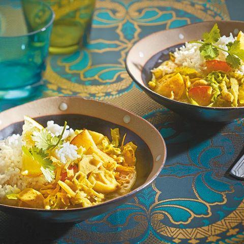 Indische Küche: vegetarische Rezepte