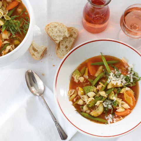 Bohnen: vegetarische Suppen & Eintöpfe