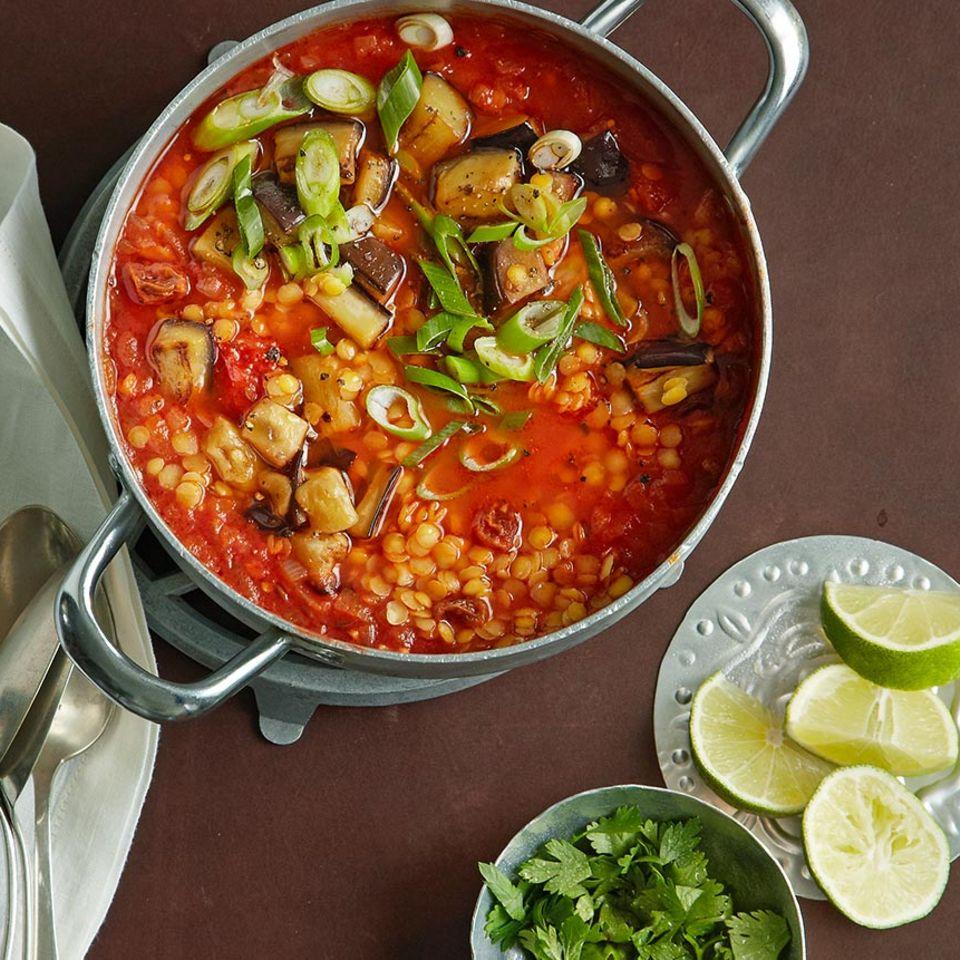 Vegane Rezepte: Suppen & Eintöpfe