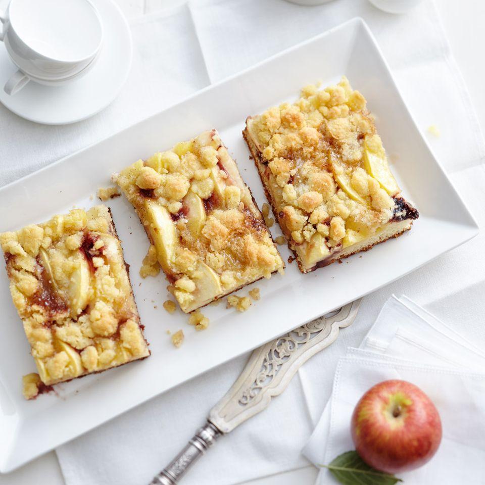 Apfelkuchen vom Blech