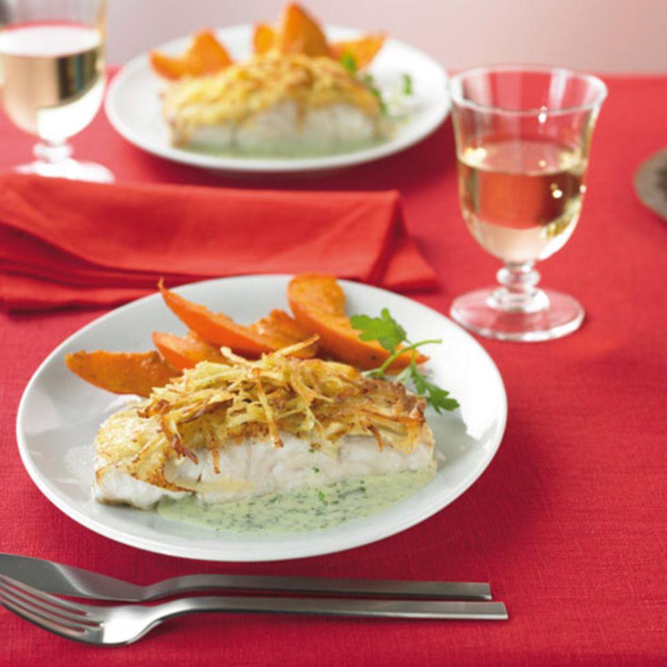 Herbst: Dinner mit Fisch