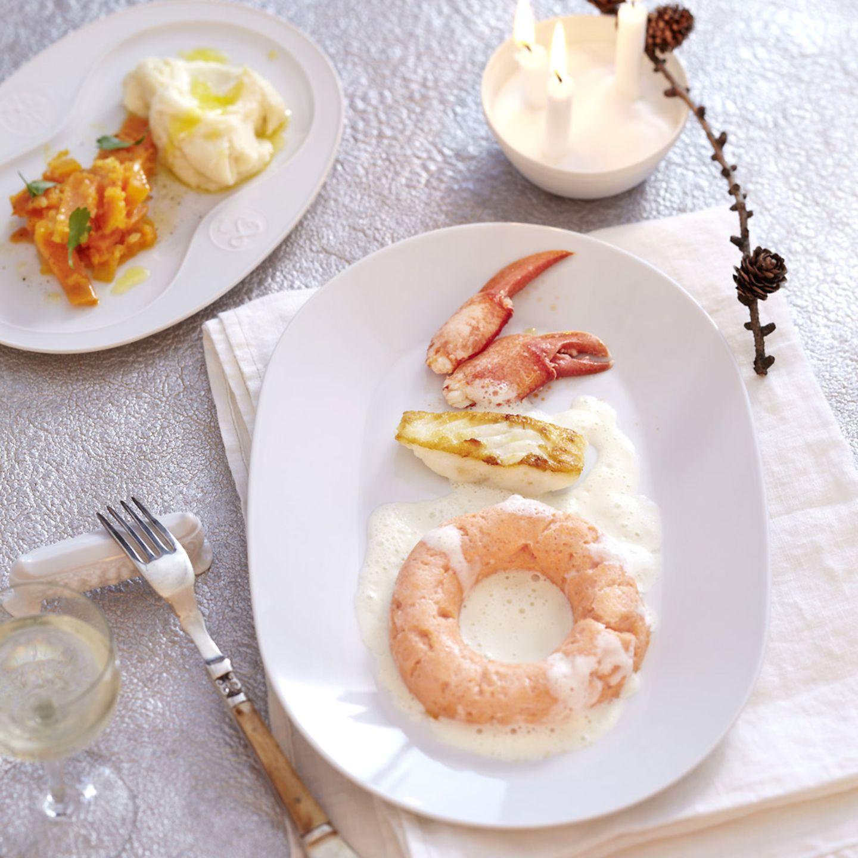 Rezepte: Menü mit Hummer-Savarin