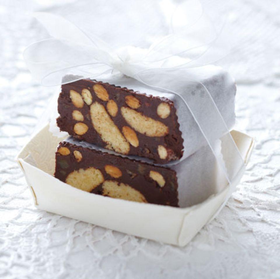 Rezepte: Konfekt mit Schokolade