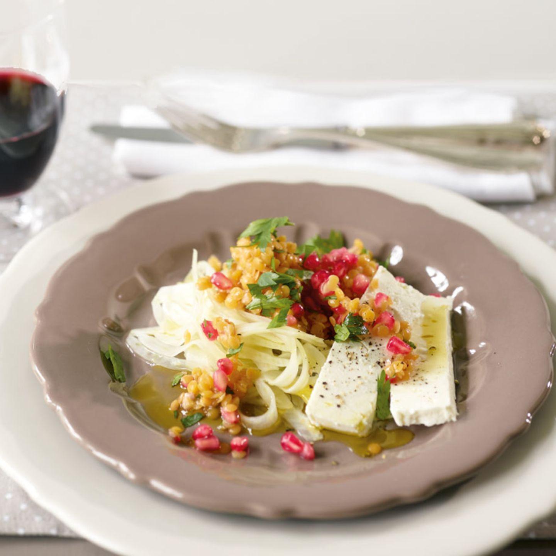 Granatapfel: herzhafte Rezepte