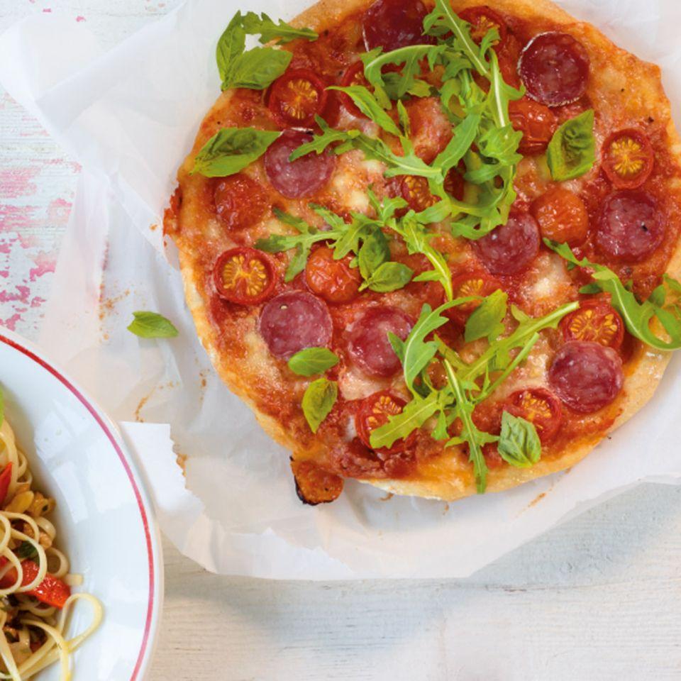 Frühling: Pizza & Pasta