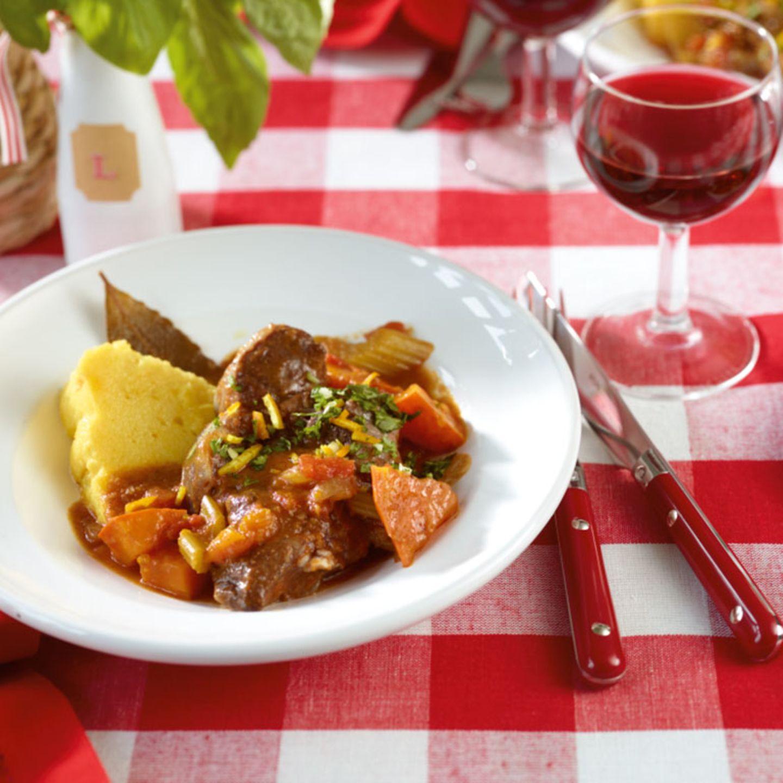 Italienische Menüs für Gäste
