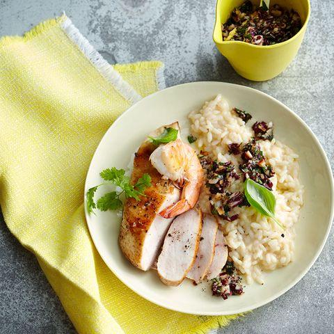 Pesto zu Fisch, Fleisch, Suppen und Desserts