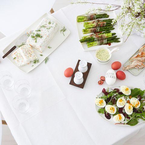 Osterbuffet für 12 Gäste