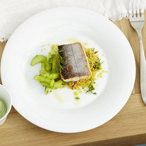 Rezepte: Couscous mit Fisch