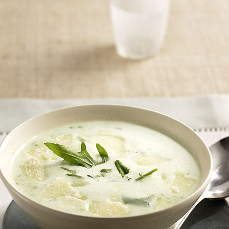 Suppen mit Rucola