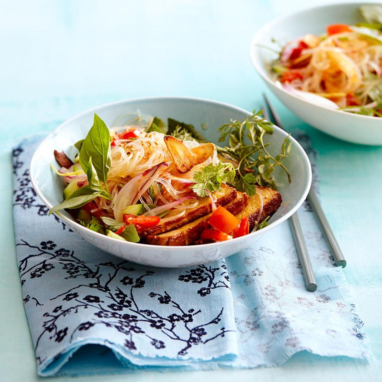 Rezepte für asiatische Salate