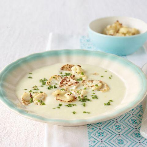 Suppen mit Blumenkohl