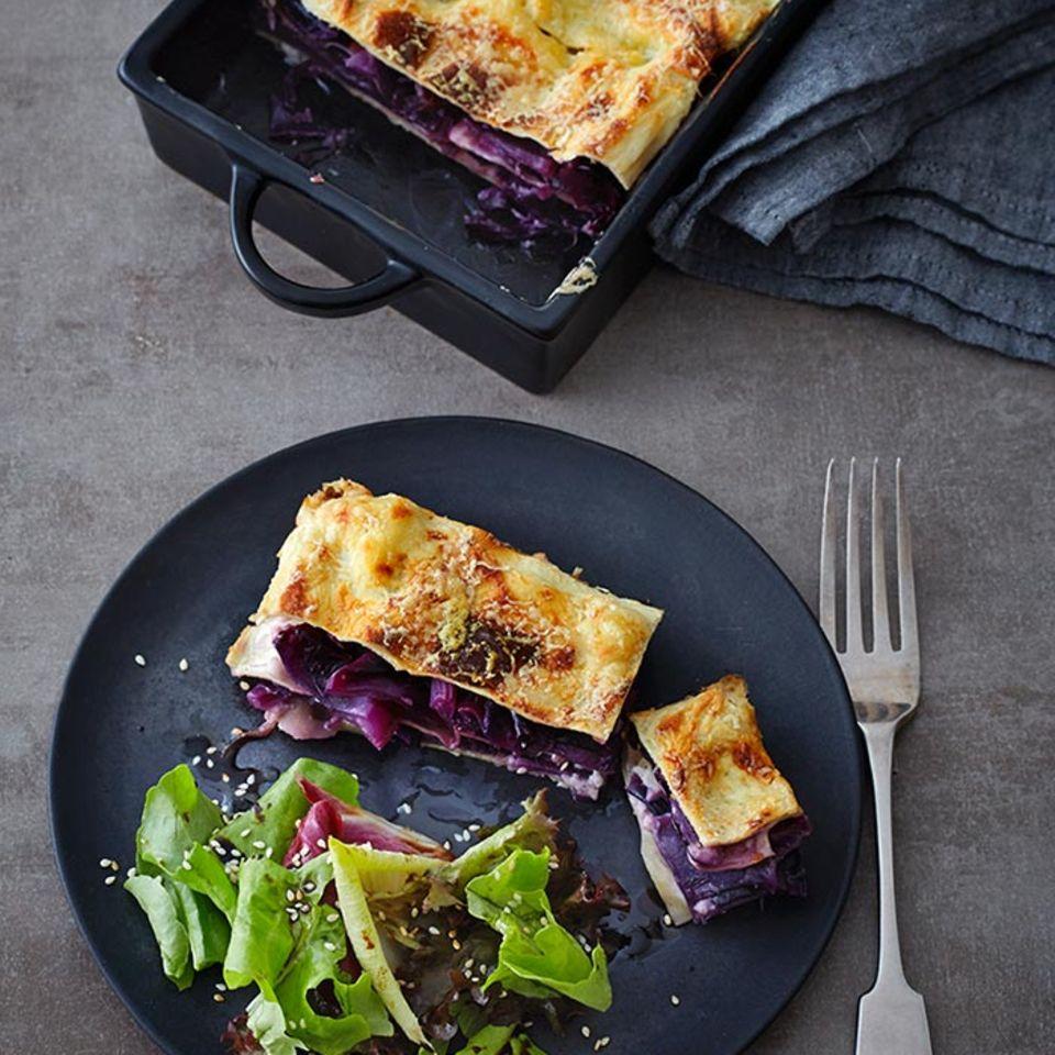 Rezepte: Vegetarische Lasagne