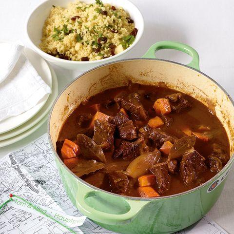 Rezepte: Couscous mit Fleisch