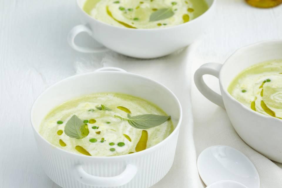 Erbsen-Paprika-Suppe Rezept