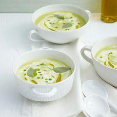 Erbsen-Paprika-Suppe