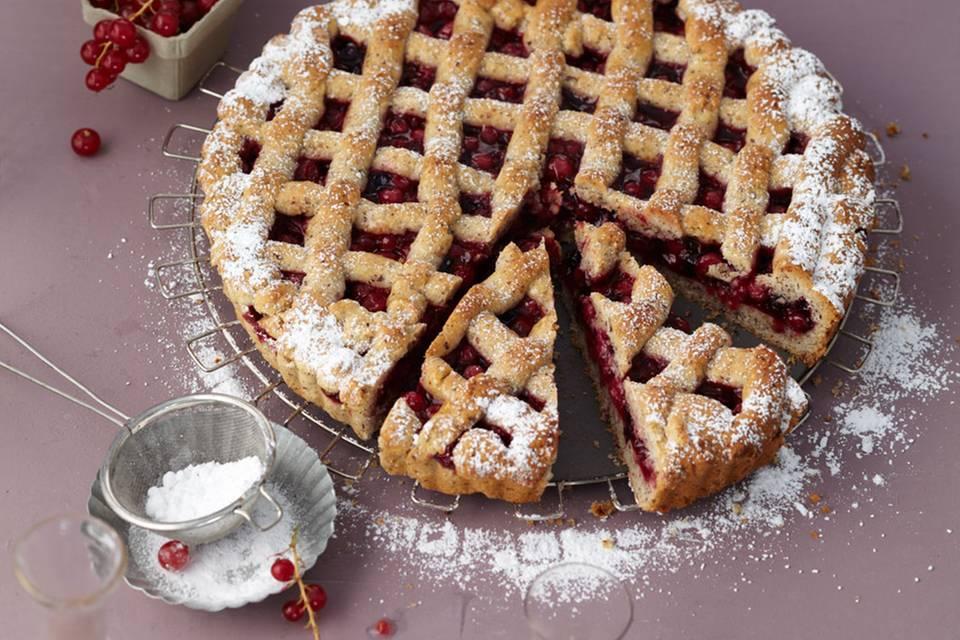 Johannisbeer-Linzer-Torte Rezept
