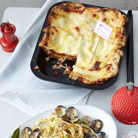 Lasagne mit Mozzarella-Béchamel