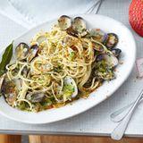 Spaghetti vongole mit Bottarga