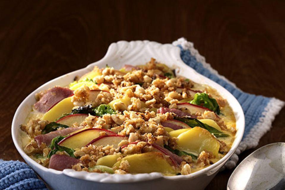 Apfel-Kartoffel-Gratin