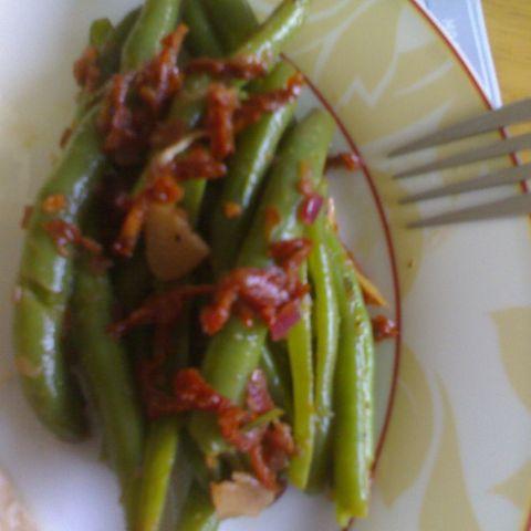 Provenzalischer Bohnensalat