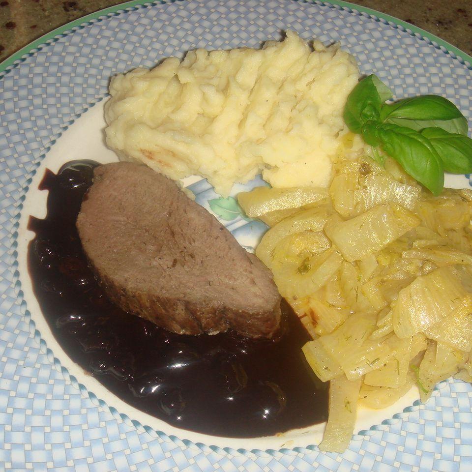 Rinderfilet mit Schoko-Balsamico-Sauce