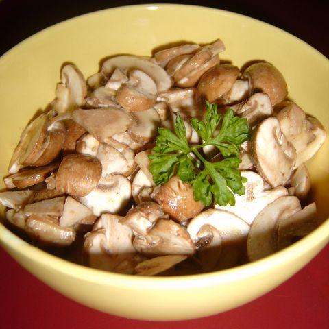 Französischer Pilzsalat